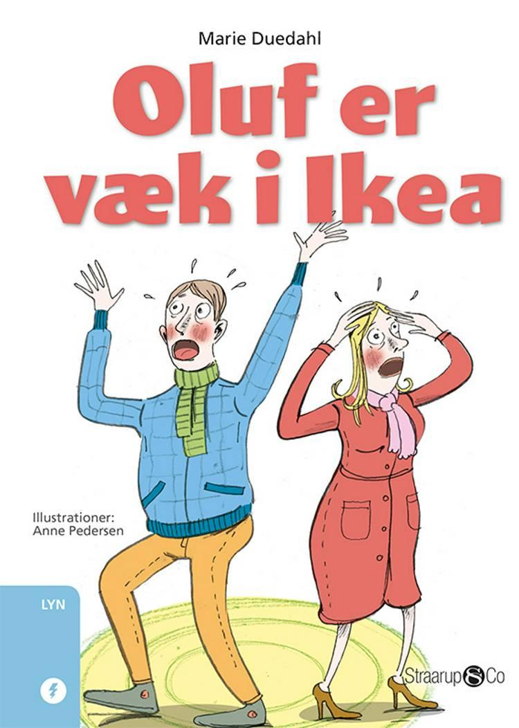 Oluf er væk i Ikea af Marie Duedahl