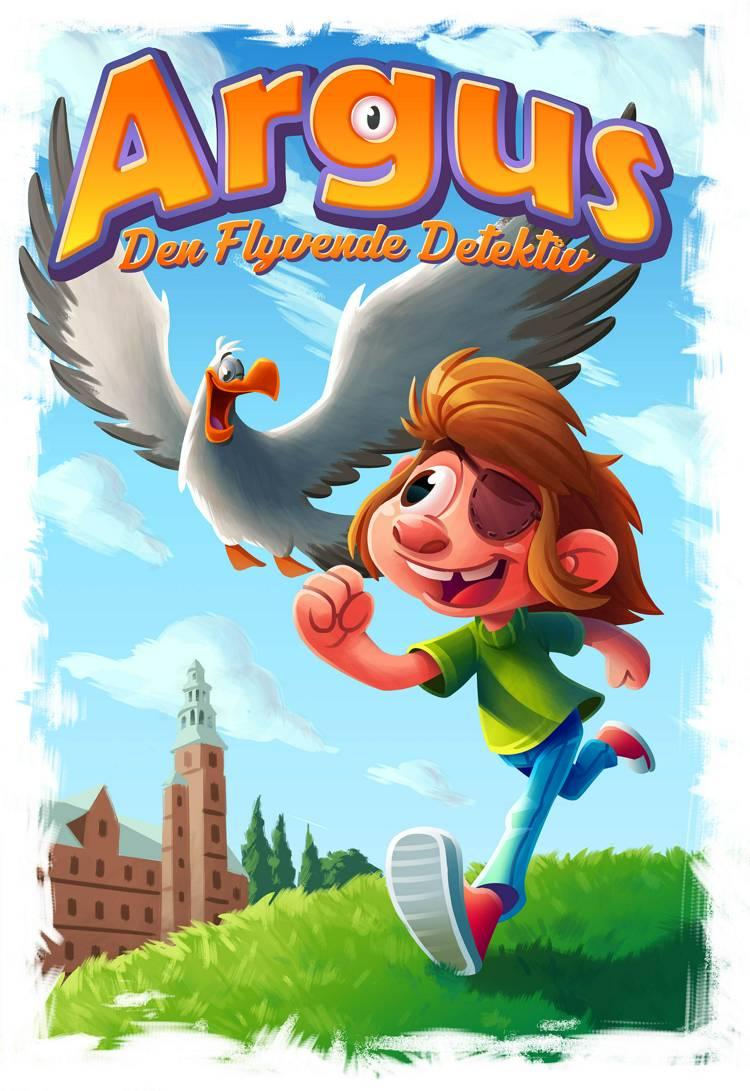 ARGUS - Den Flyvende Detektiv af Sally Sharf