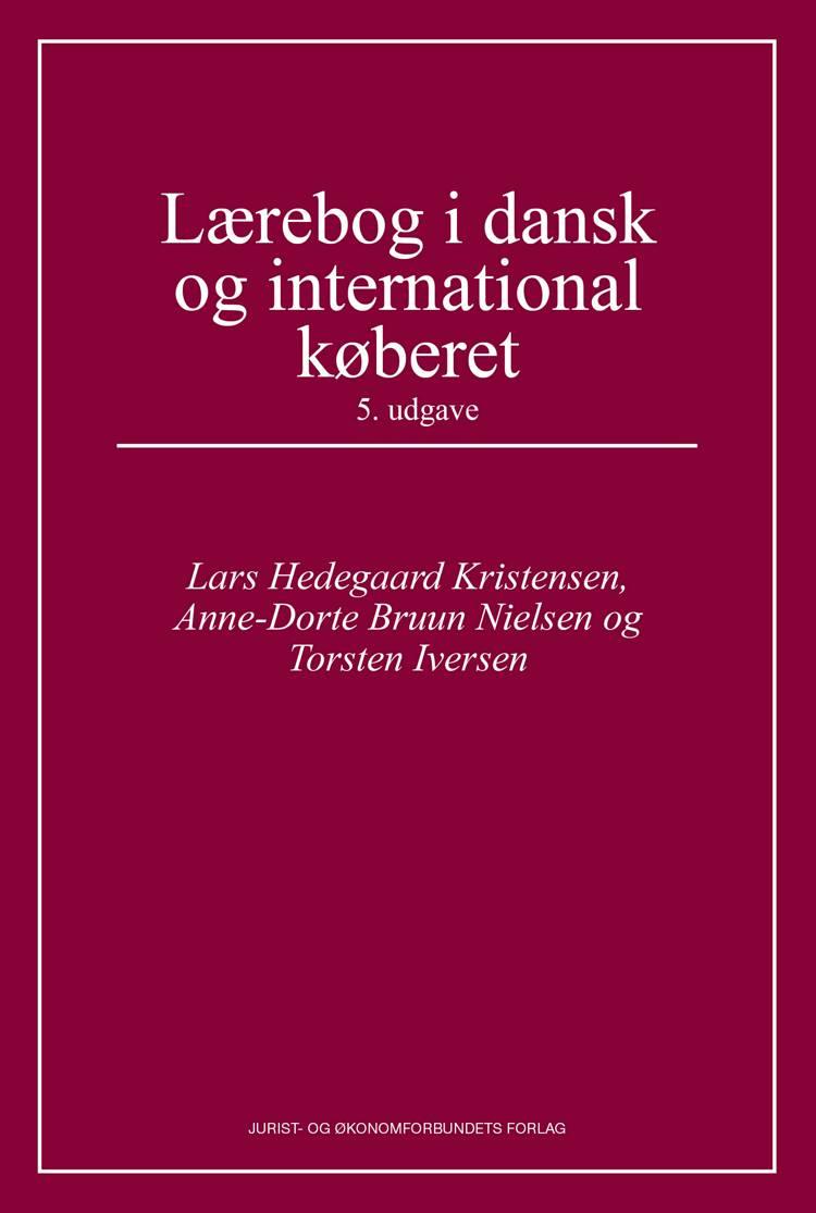 Lærebog i dansk og international køberet af Anne-Dorte Bruun Nielsen, Nils Elmelund, Lars Hedegaard Kristensen og Anne-Dorte Bruun Nielsen og Torsten Iversen m.fl.