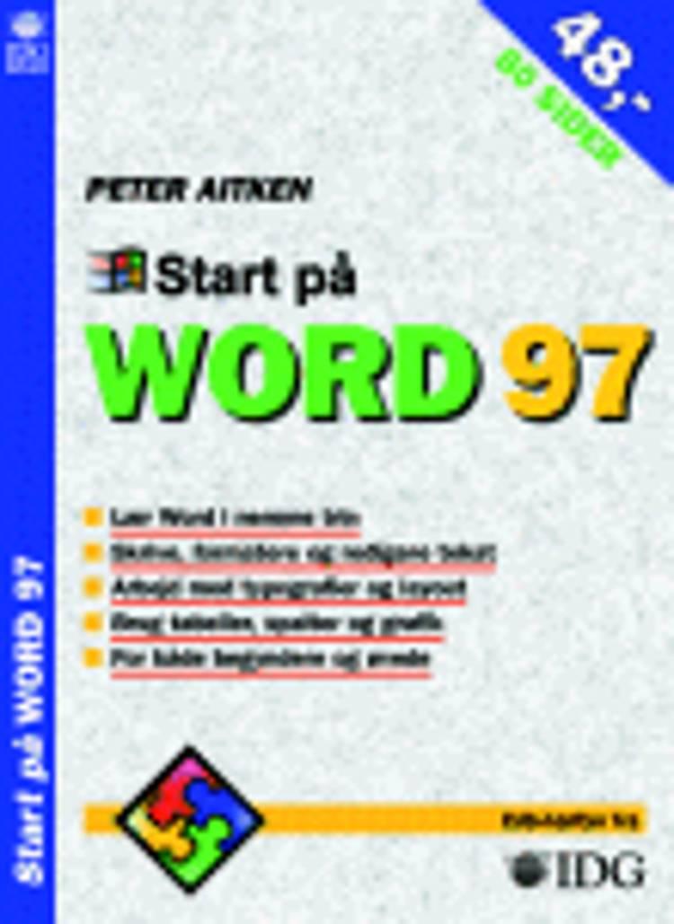 Start på Word 97 af Peter Aitken
