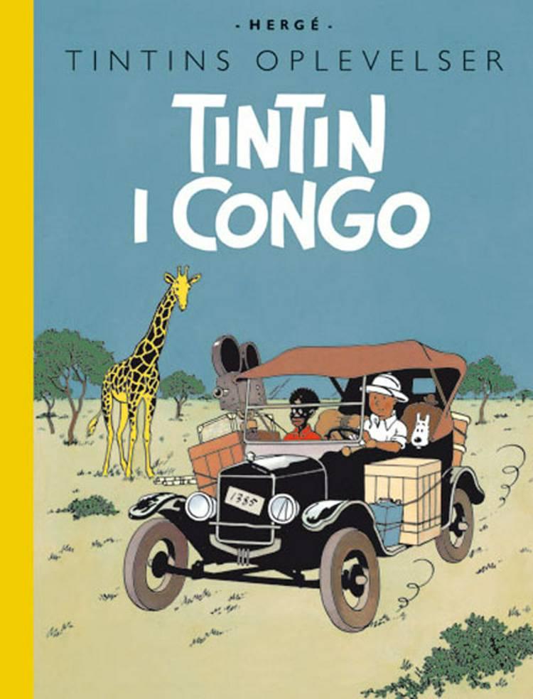 Tintin i Congo af Hergé
