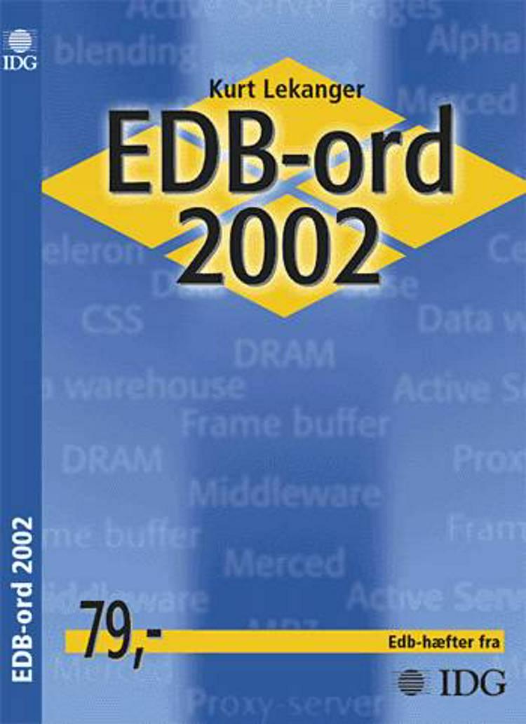 EDB-ord 2002 af Kurt Lekanger