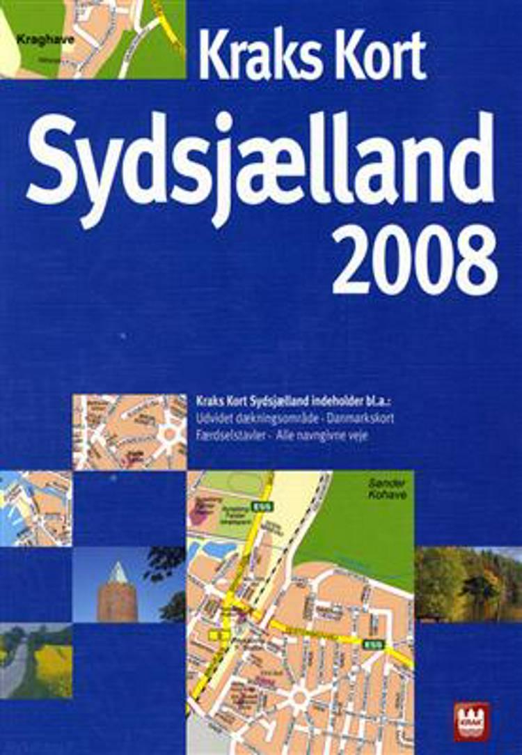 Kraks kort Sydsjælland