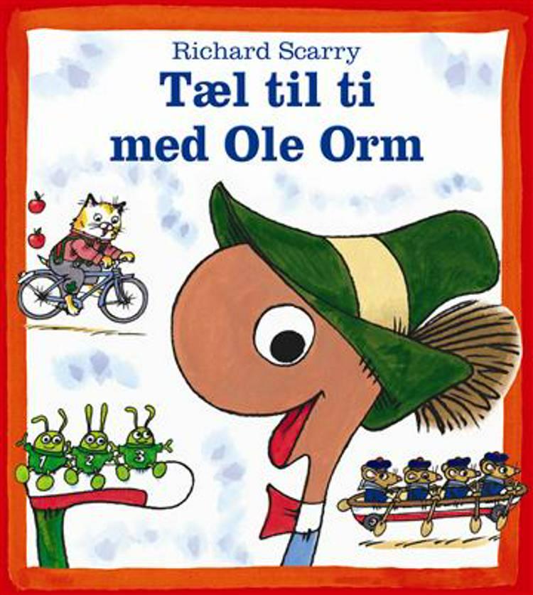 Tæl til ti med Ole Orm af Richard Scarry