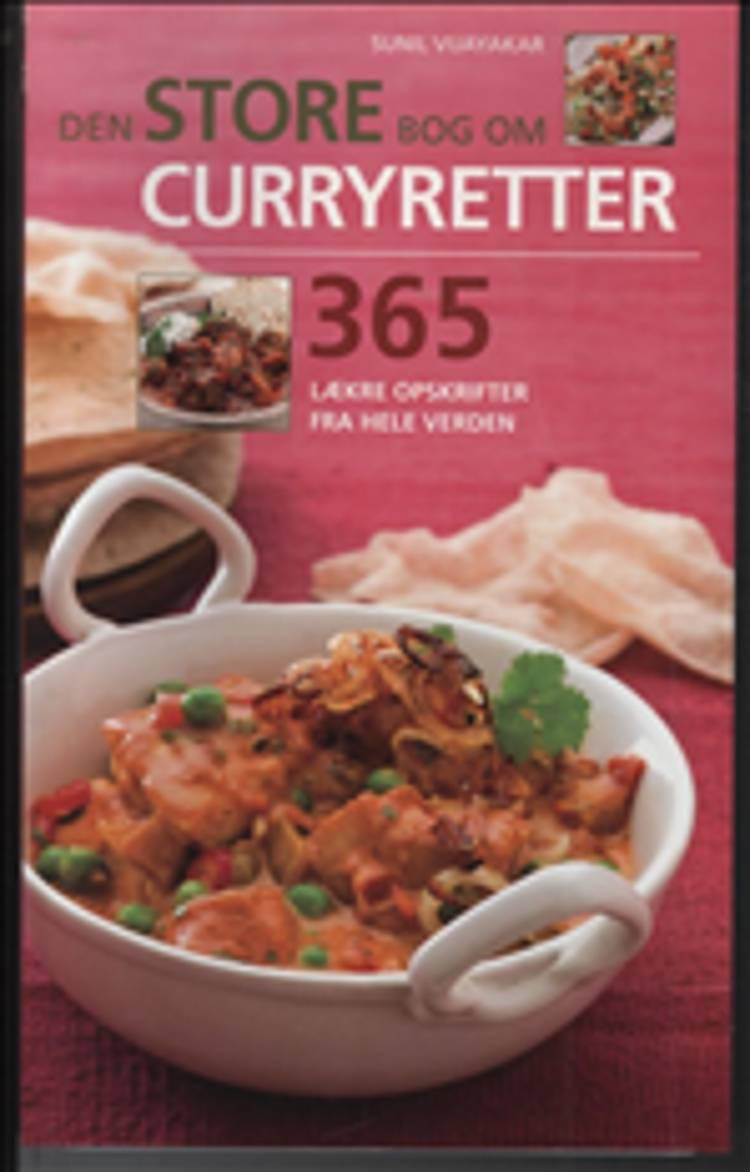 Den store bog om curryretter af Sunil Vijayakar