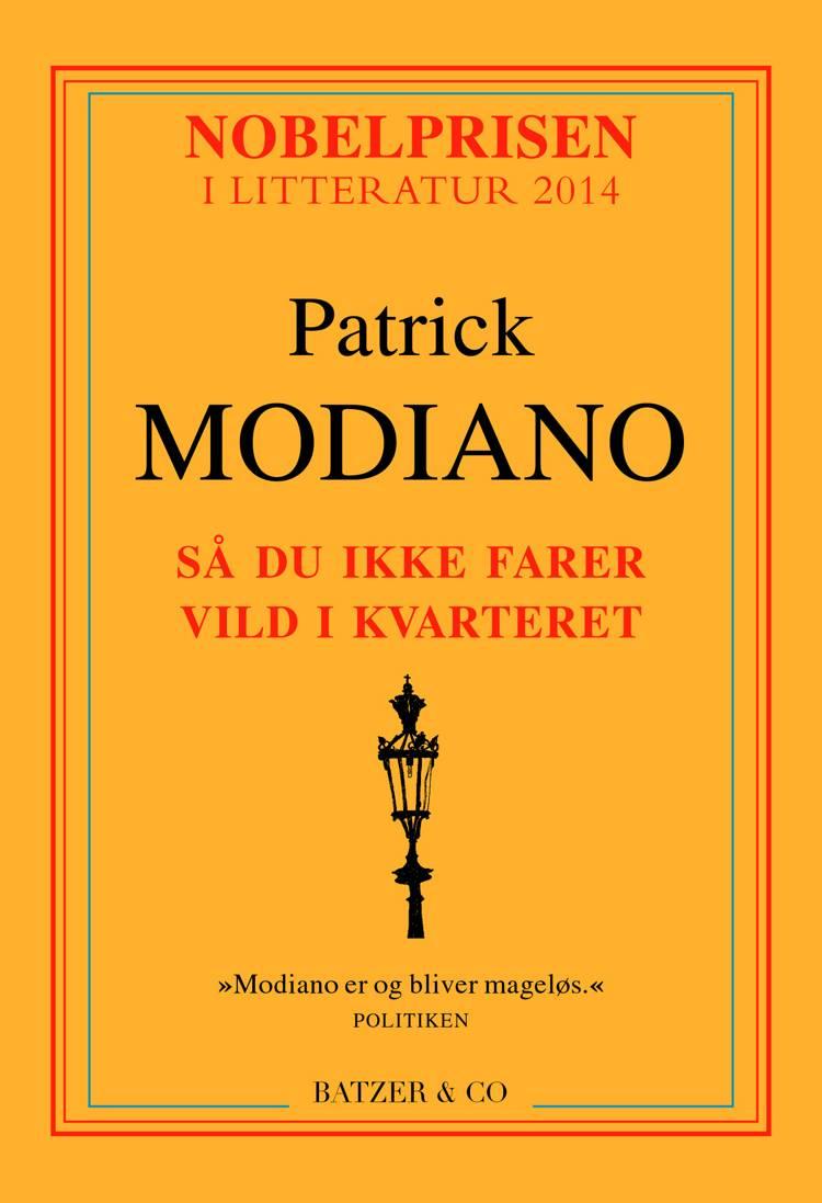 Så du ikke farer vild i kvarteret af Patrick Modiano