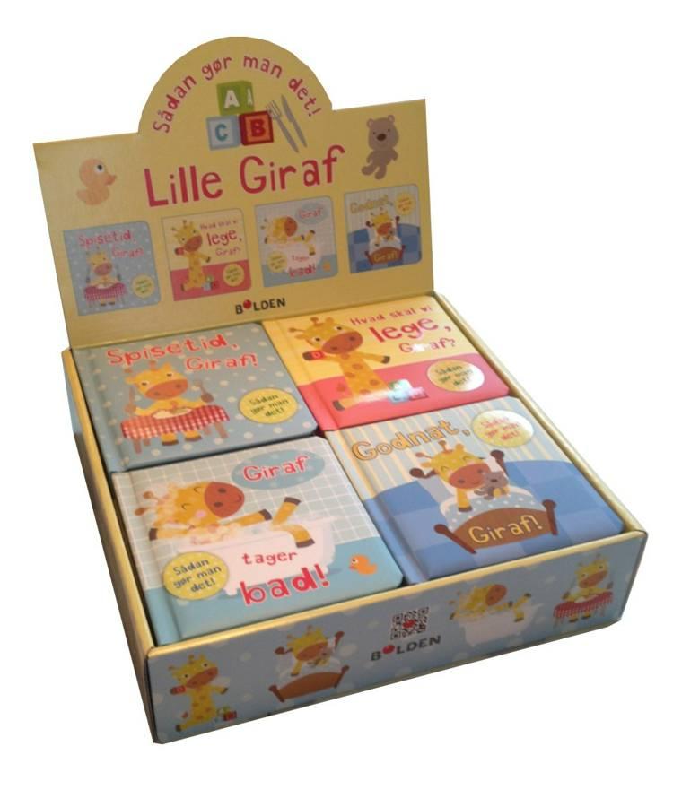 Den lille giraf 1-4