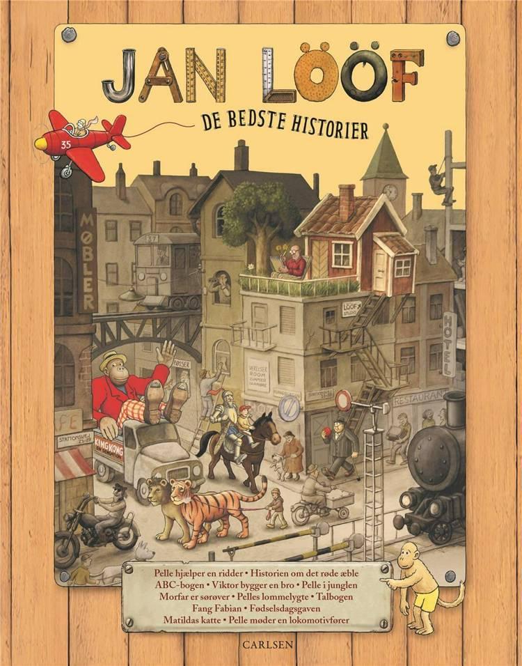 Jan Lööf, De bedste historier, højtlæsning, højtlæsningsbog, børnebog