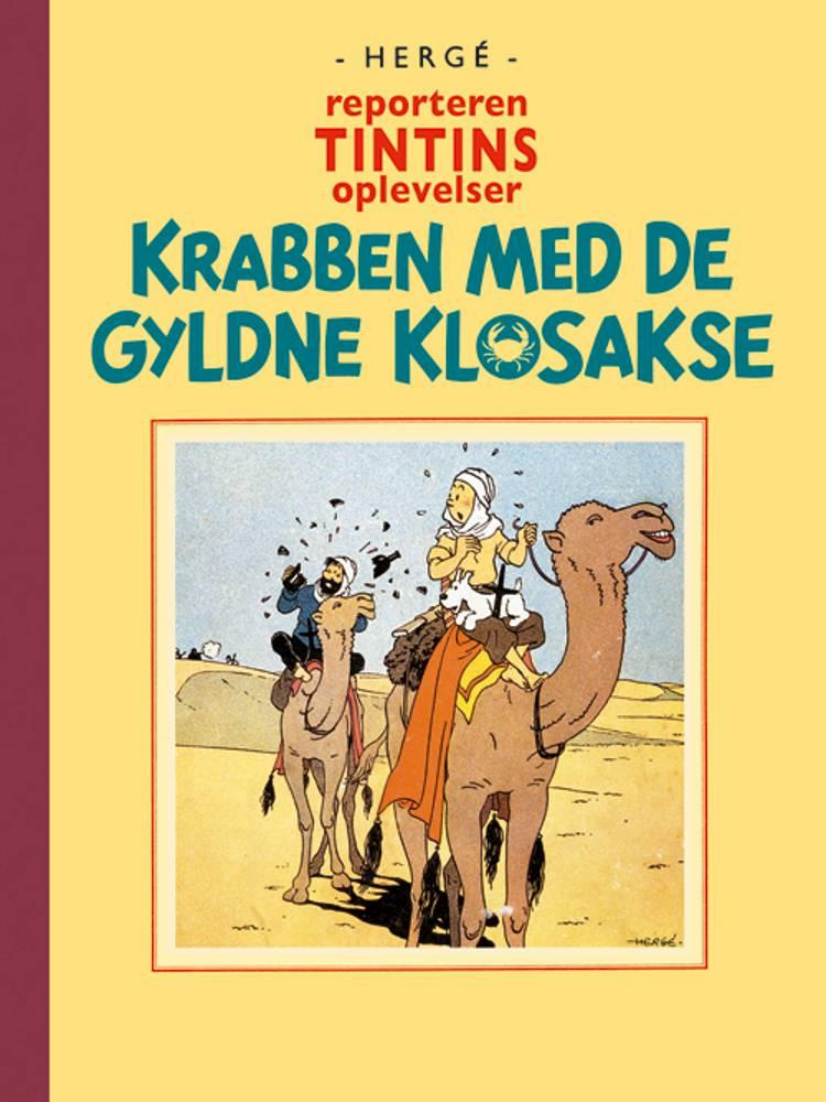 Reporteren Tintins oplevelser: Krabben med de gyldne klosakse af Hergé
