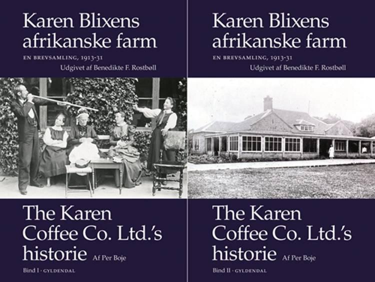 Karen Blixens afrikanske farm. En brevsamling 1913-31 af Karen Blixen og Aage Westenholz