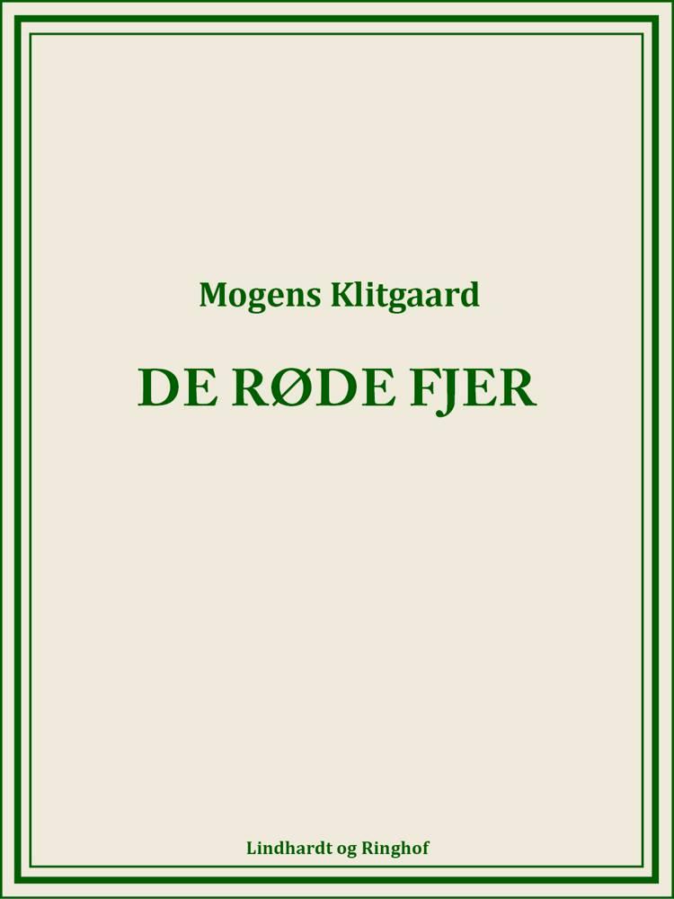 De røde fjer af Mogens Klitgaard