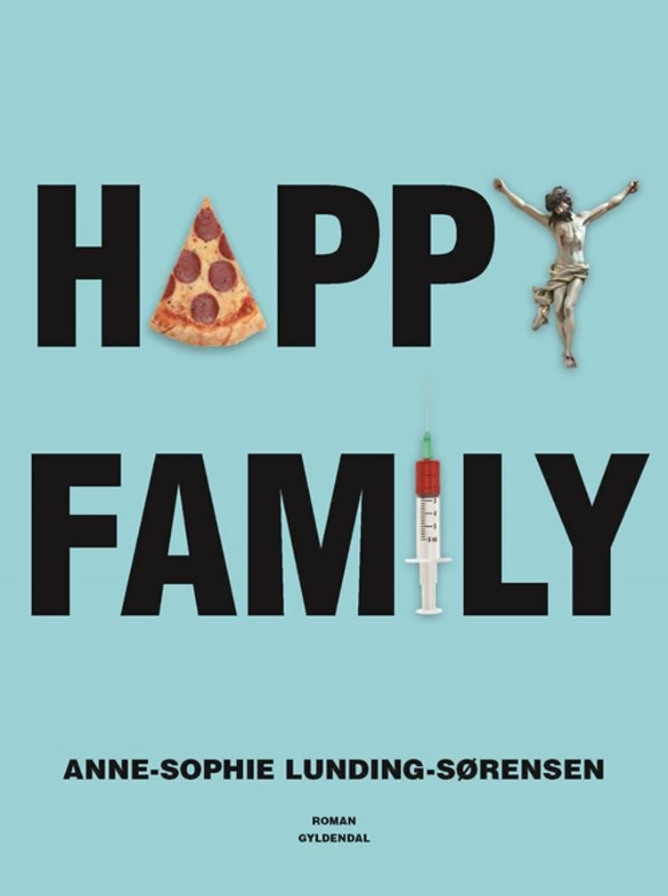 Happy family af Anne-Sophie Lunding-Sørensen