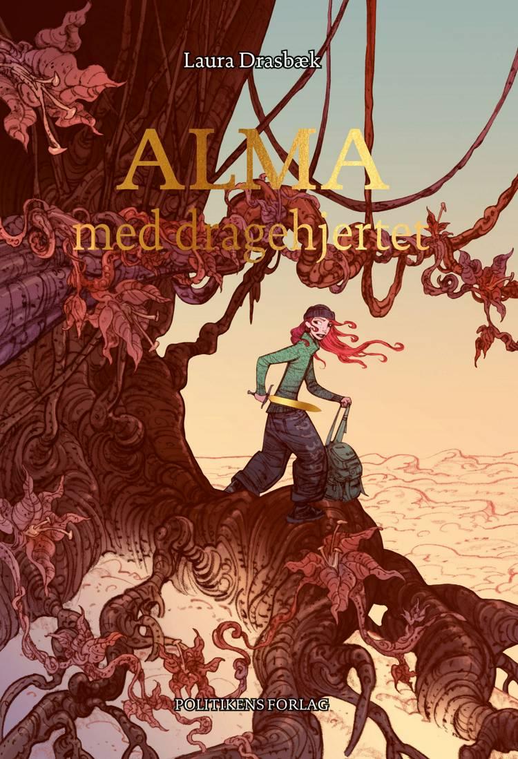Alma med dragehjertet af Laura Drasbæk