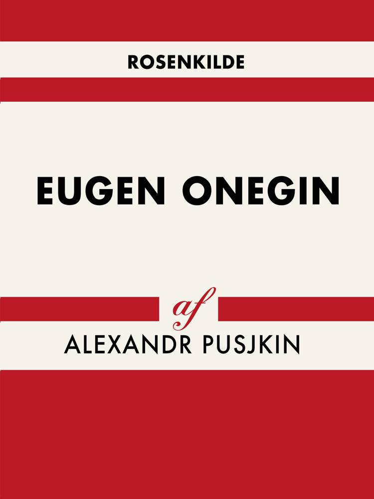 Eugen Onegin af Aleksandr Pusjkin