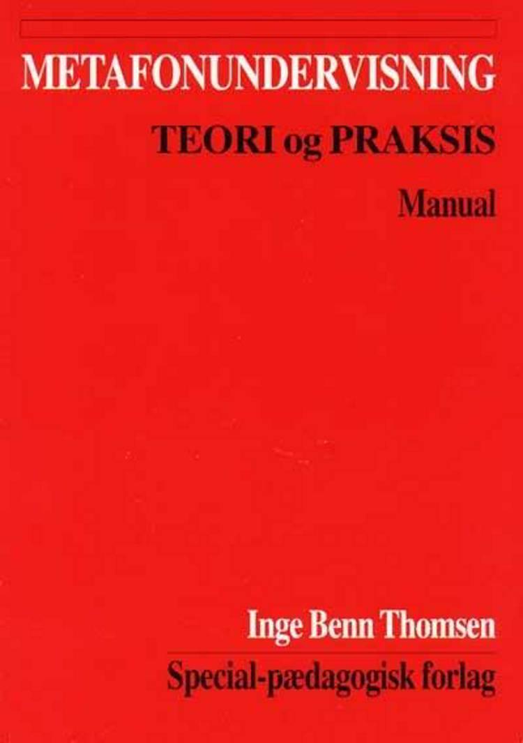 Metafonundervisning af Inge Benn Thomsen