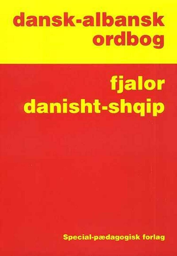 Dansk-albansk ordbog af Gazmend Basha