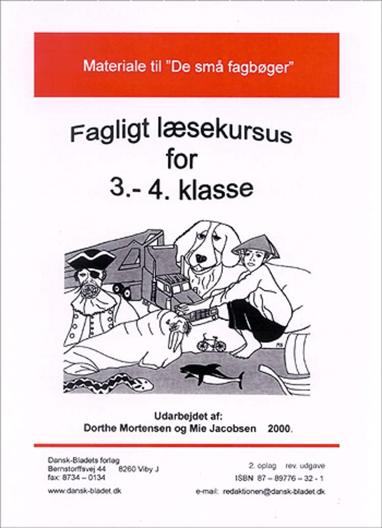Materiale til De små fagbøger af Mie Jacobsen og Dorthe Mortensen