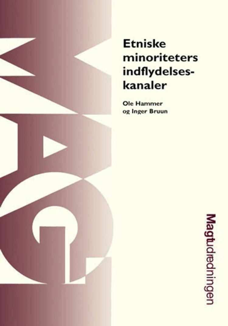 Etniske minoriteters indflydelseskanaler af Ole Hammer og Inger Bruun