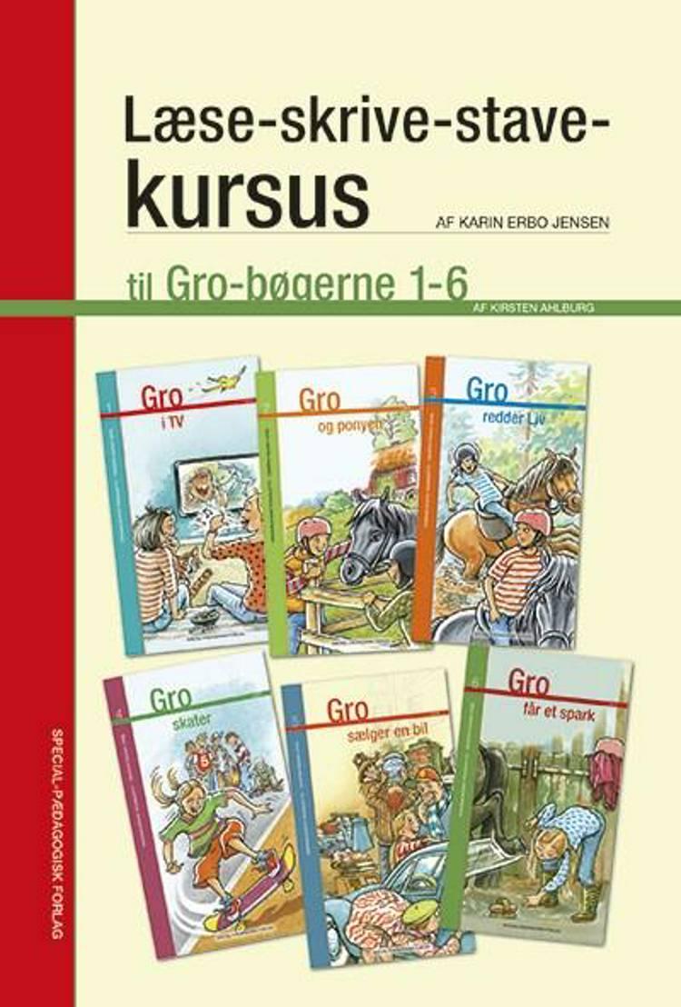 Læse-skrive-stave-kursus til Gro bøgerne 1-6