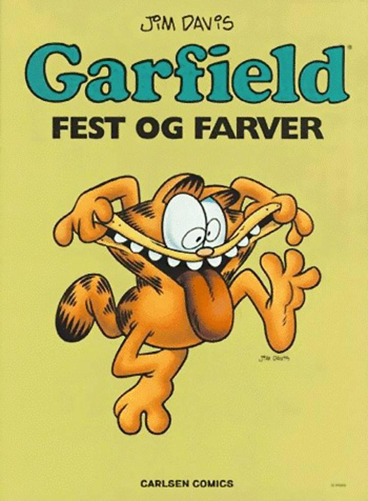 Garfield - fest og farver af Jim Davis
