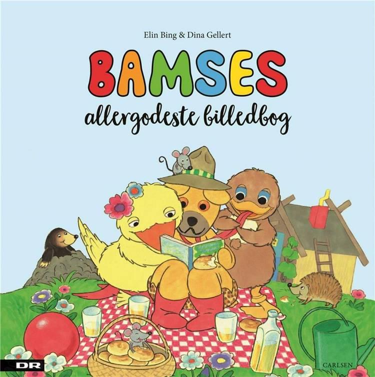 Bamses allergodeste billedbog af Elin Bing