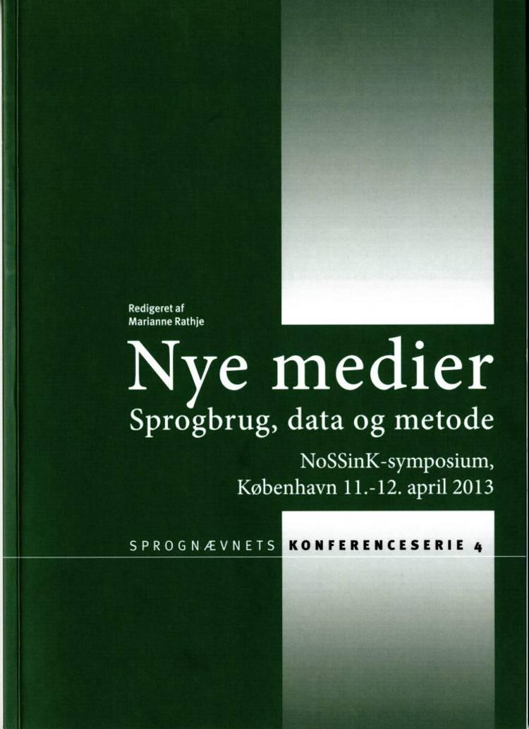 Nye medier af Sabine Kirchmeier-Andersen, Richard Domeij og Torbjørg Breivik m.fl.
