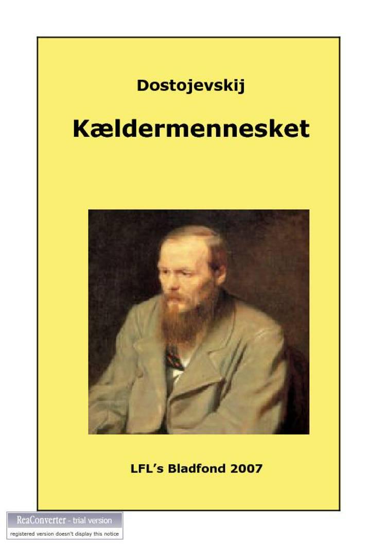 Kældermennesket af F. M. Dostojevskij