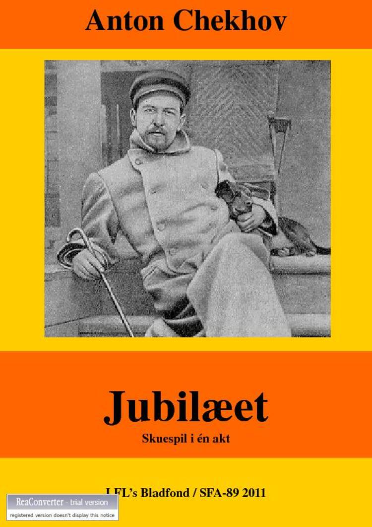 Jubilæet af Anton Tjechov