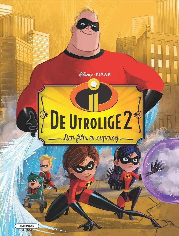 De Utrolige 2 - filmbog af Disney Pixar