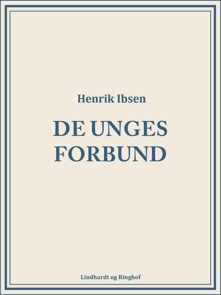 De unges forbund af Henrik Ibsen