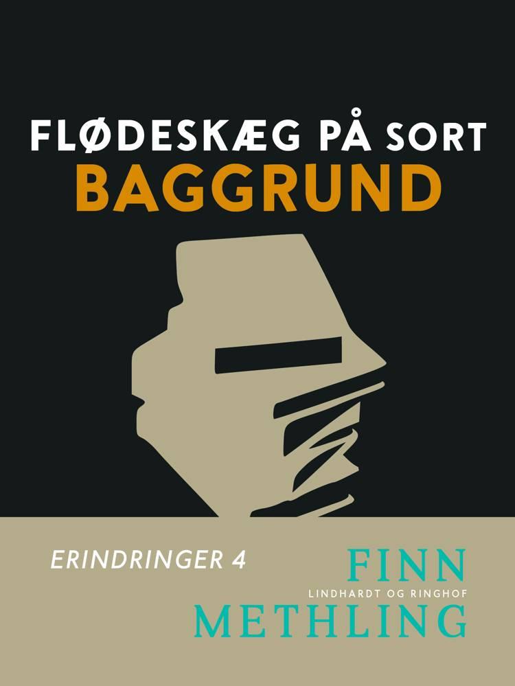 Flødeskæg på sort baggrund af Finn Methling