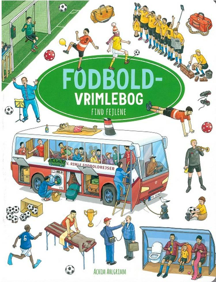 Fodbold vrimlebog af Achim Ahlgrimm