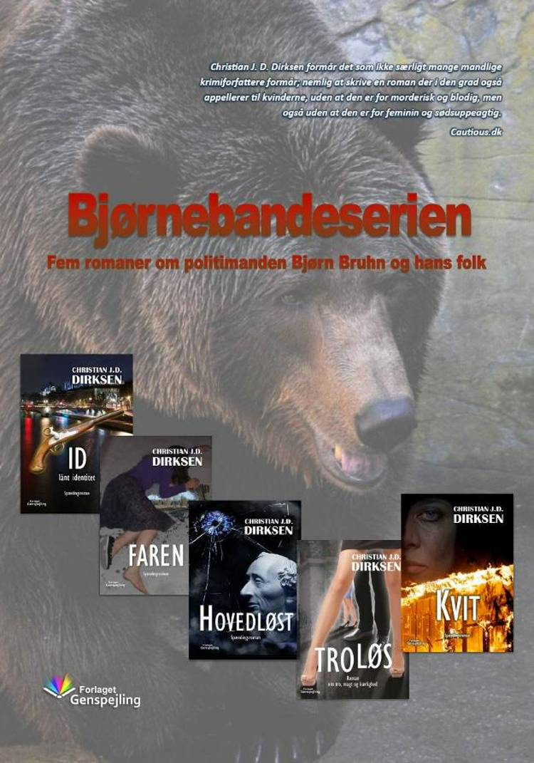 Bjørnebandeserien af Christian J. D. Dirksen