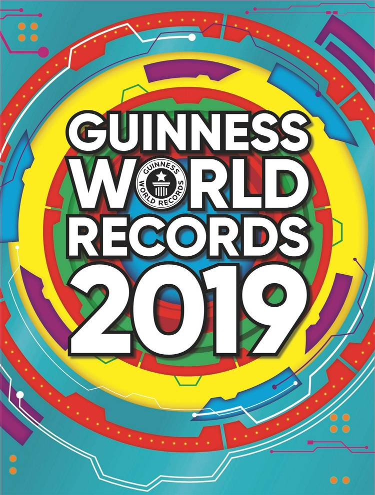 Guinness World Records, Guinness World Records 2019, rekordbog, rekordbøger, rekorder