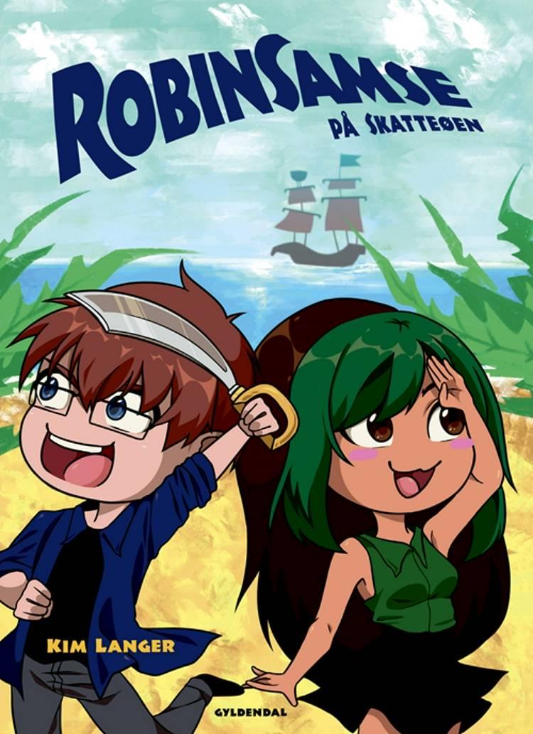RobinSamse på Skatteøen af Kim Langer