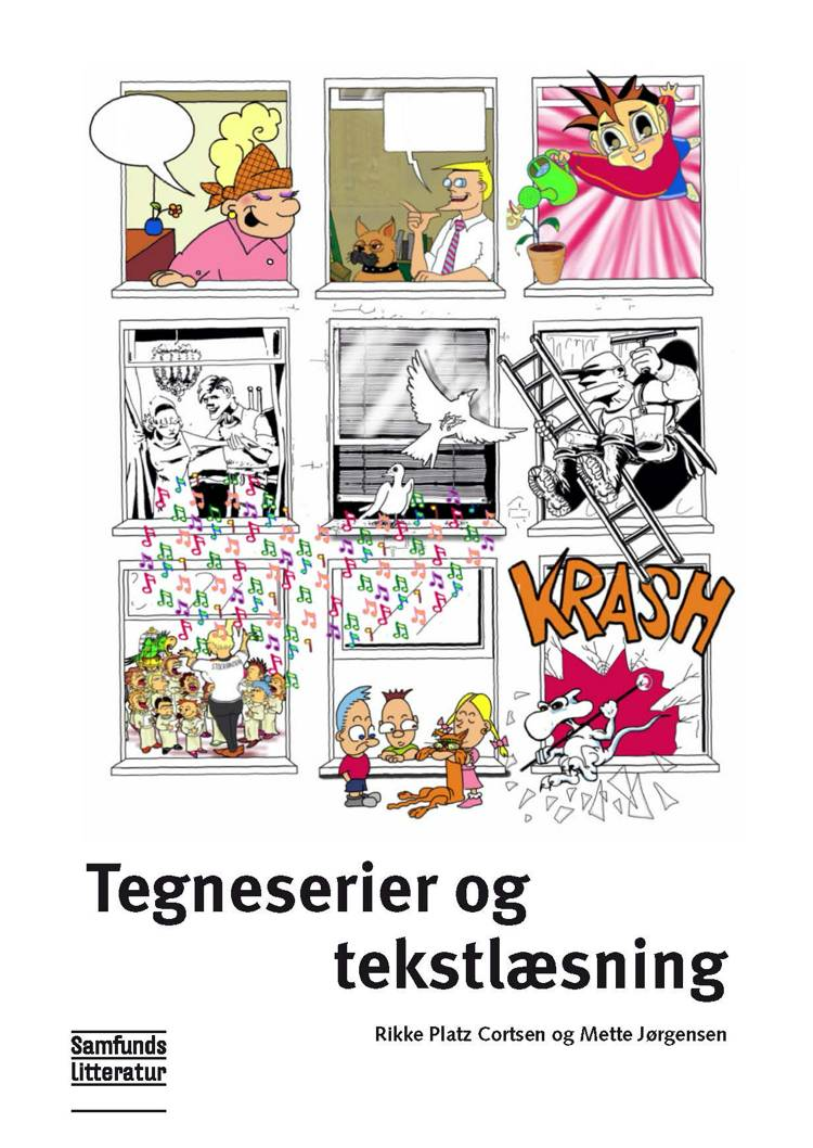 Tegneserier og tekstlæsning af Mette Jørgensen og Rikke Platz Cortsen