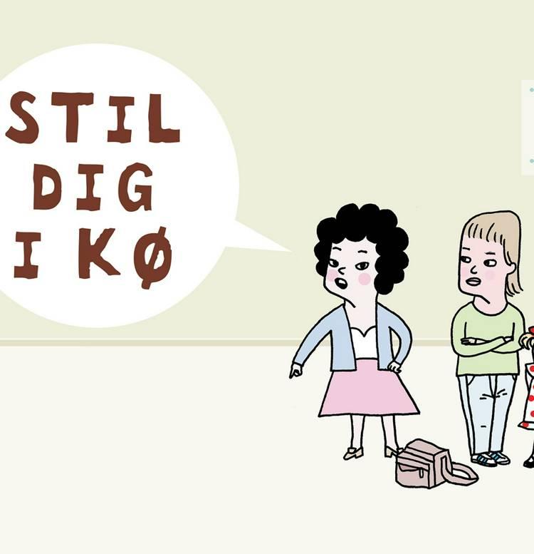 Stil dig i kø af Kristin Roskifte