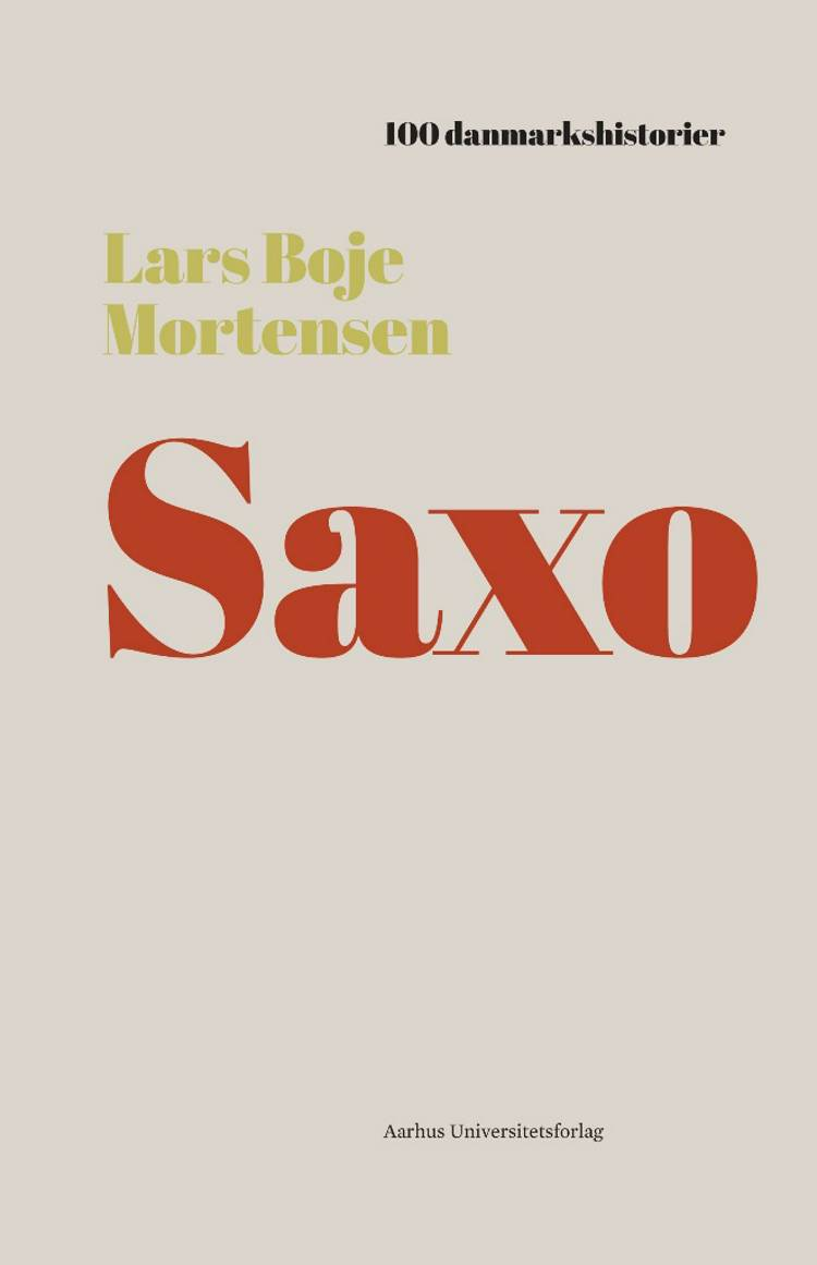 Saxo af Lars Boje Mortensen