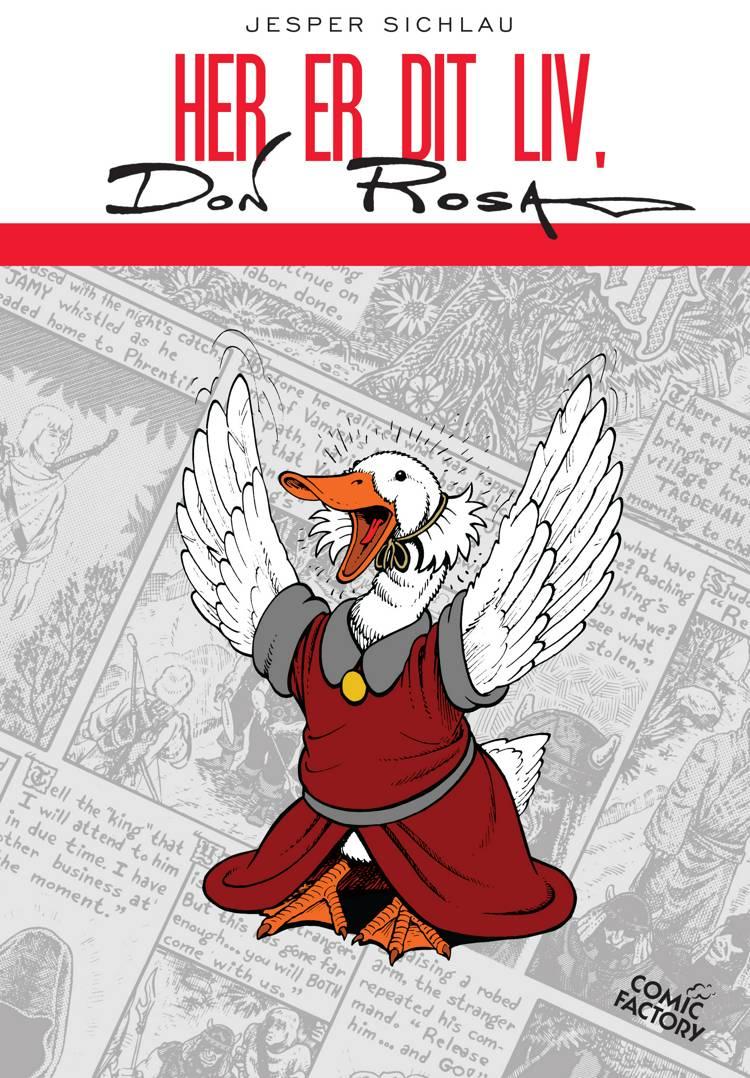 Her er dit liv Don Rosa af Jesper Sichlau