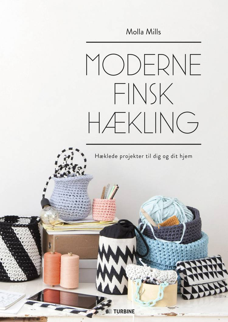 Moderne finsk hækling af Molla Mills
