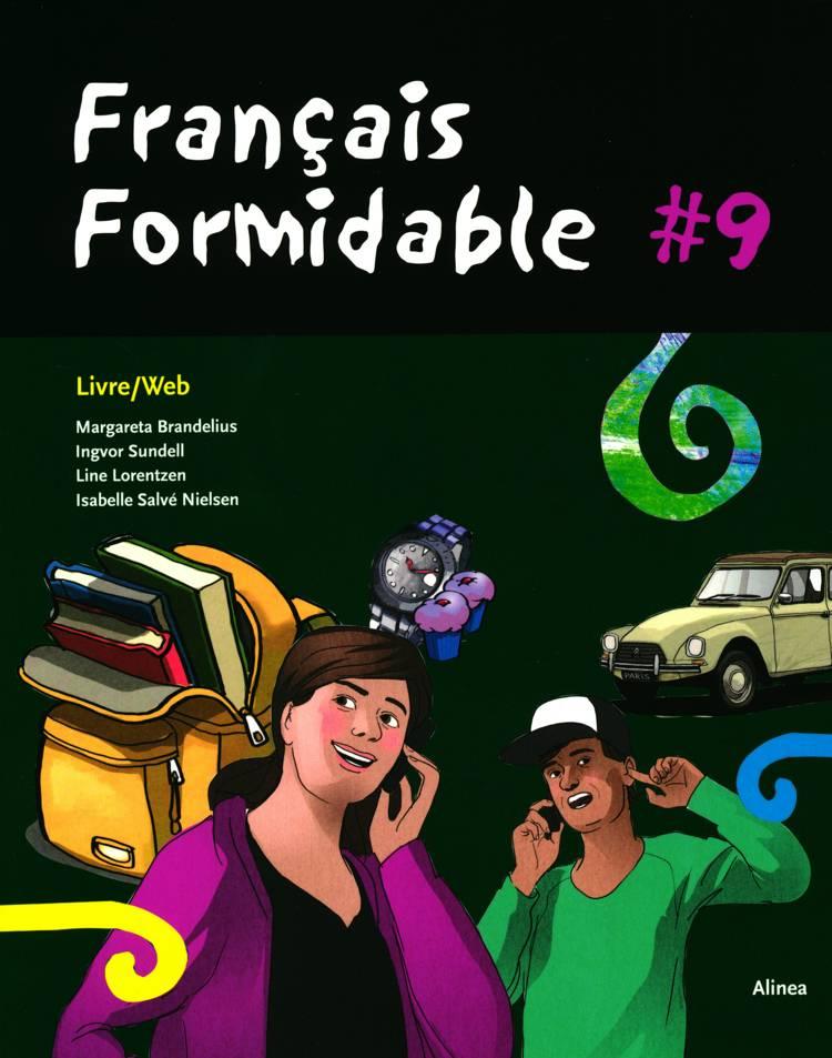 Français formidable 9 af Isabelle Salve Nielsen og Line Lorentzen