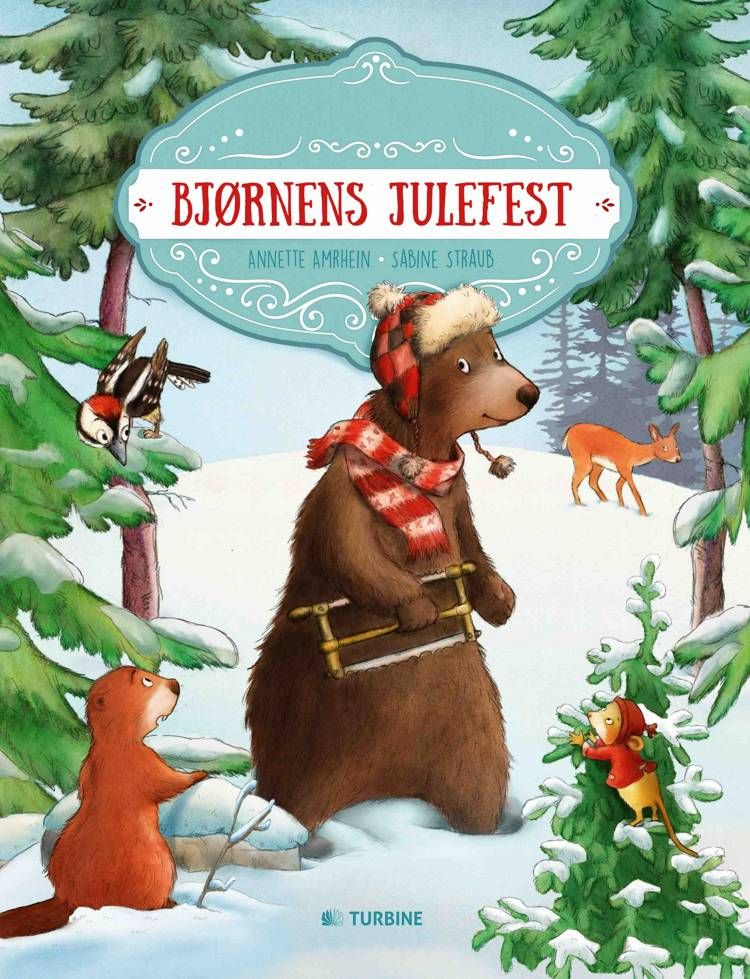 Bjørnens julefest af Annette Amrhein
