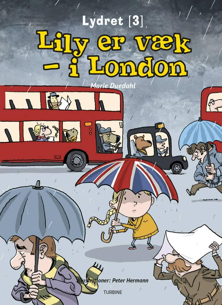 Lily er væk - i London af Marie Duedahl
