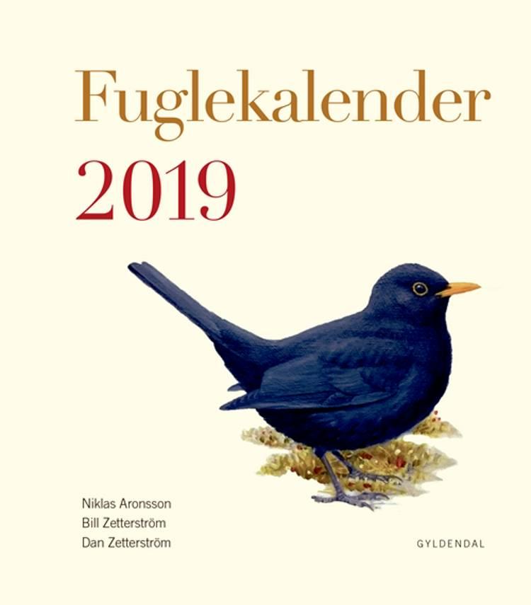 Fuglekalender 2019 af Dan Zetterström og Mats Ottosson