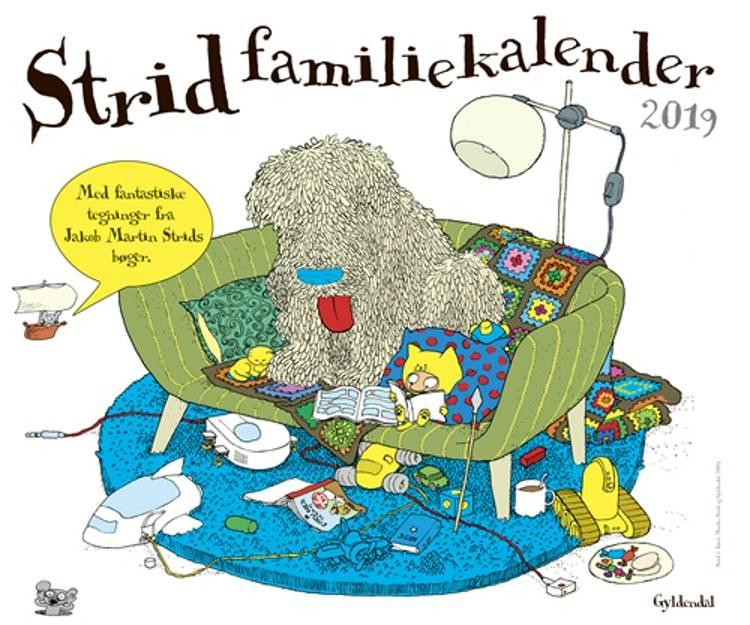 Strid Familiekalender 2019 af Jakob Martin Strid