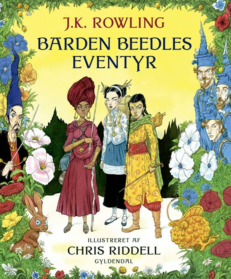 Barden Beedles eventyr. Illustreret udgave af J.K. Rowling