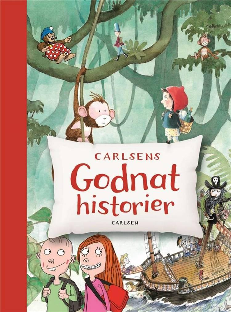 Carlsens godnathistorier af Per Sanderhage, Jan Mogensen og Brødrene Grimm m.fl.