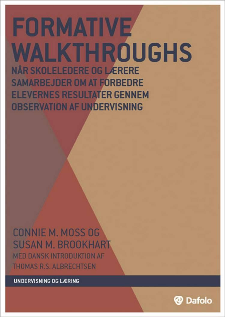 Formative walkthroughs af Susan M. Brookhart og Connie M. Moss