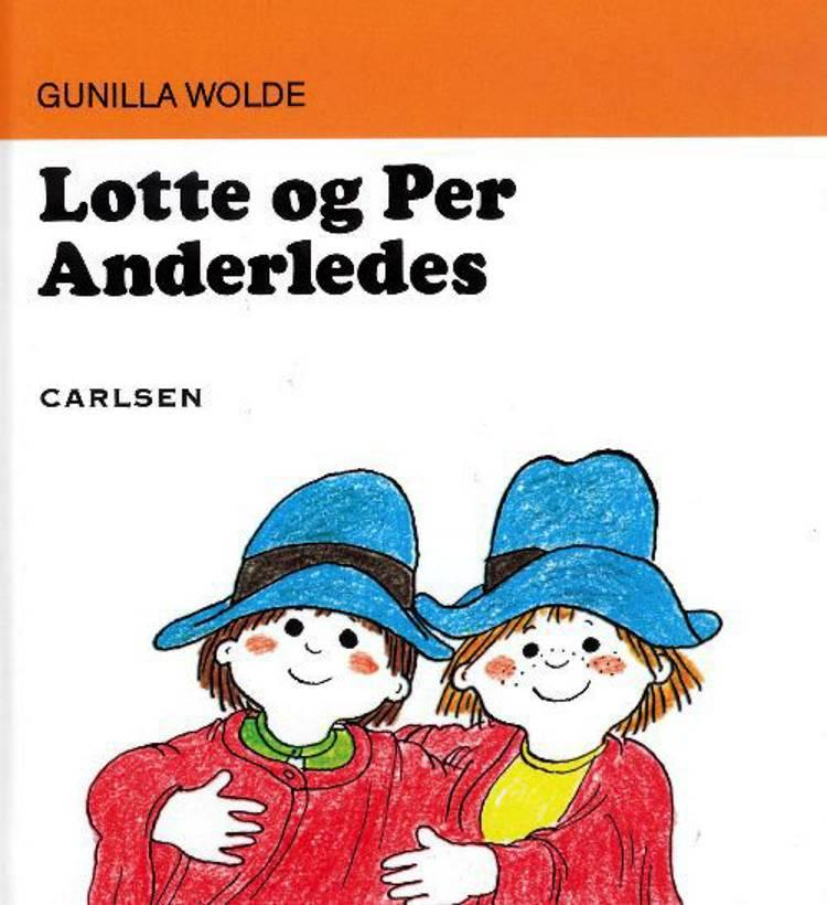 Lotte og Per anderledes af Gunilla Wolde