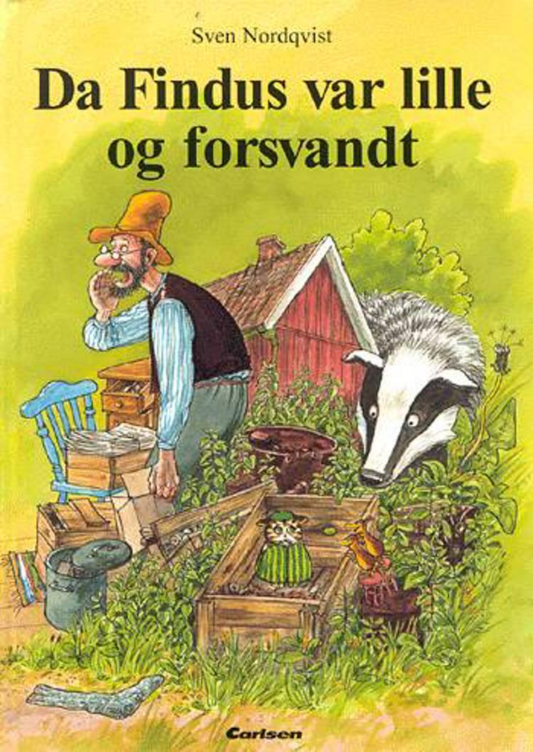 Da Findus var lille og forsvandt af Sven Nordqvist